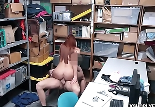 LP Officer banging the Czech shoplyfter Ornella Morgan!