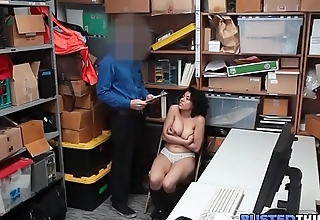 Hot Latina Teen Fucked For Stealing Items