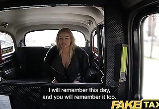 Fake Taxi Just a coat no lingerie light of one's life