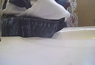 Wifes Black tits on hidden cam