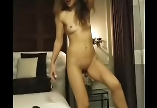 Strip to naked milf