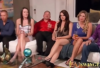 Sexy swinger events turn into a big orgy