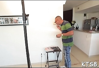 Wild ladyboy gets her asshole rammed roughly by a sexy guy