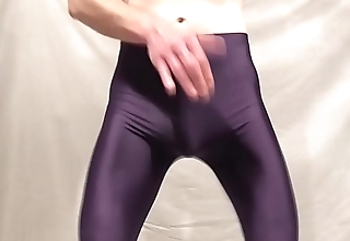 Lycra Shorts Ripped Open during Phone Fuck