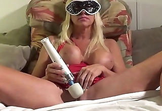 BEAUTIFUL HORNY Festival BACK HOME FROM MARDI GRAS BALL  LEAVES HER MASK ON AND TAKES OUT HITACHI VIBRATOR AND RIDES IT TO A Uproarious SHUDDERING ORGASM THAT LEAVES HER SPEECHLESS.more vids within reach manyvids.com search blonde banditt