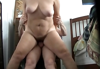 wife`s legs wide open be required of sweet pussy lips