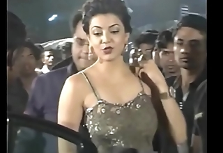 Hot Indian actresses Kajal Agarwal showing their juicy butts with the addition of ass show. Fap challenge #1.