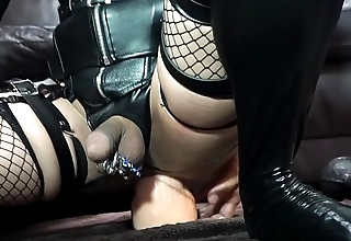 Huge dilldo anal masturbation with Hung ULTRASKYN include Dual Density Extreme Set