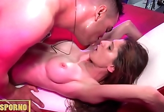 Italian male and two spanish pornstars lead fuck