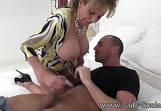 Spanish Fly In Lady Sonia'_s Tea Gets Her Sizzling As Fuck
