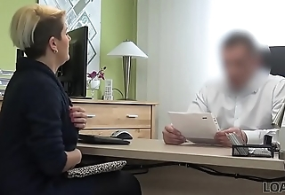 LOAN4K. Smart girl pays with sex for credit for her precedent-setting business