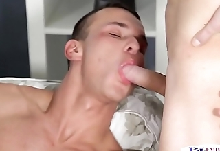 Stud fucking tight pussy while cocksucking