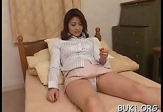 Young non-professional asian doll gets cock in rough modes on web camera