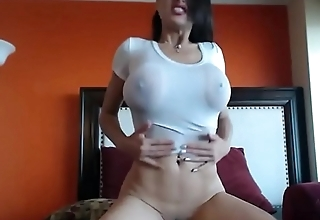 Wet t-shirt and jeans fuck 2