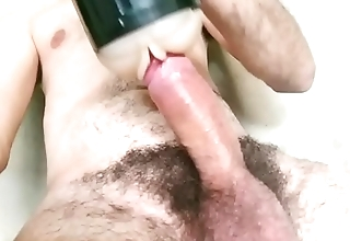 Sex plaything masturbation hairy male