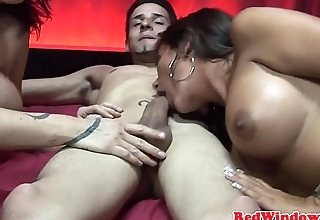 Amsterdam slut fucked and sprayed with jizz