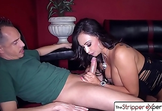 The Stripper Experience - Claudia Valentine gets her ass fucked, big booty and big boobs
