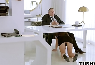 TUSHY Assistant Makes Will not hear of Boss Work For Anal